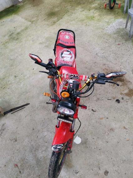 Vendo Moto Suzuki Ax100, Modificada A 115, De 12 Voltios