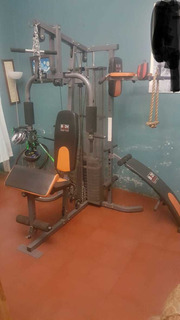 Máquina Multifuncional Para Piernas,brazos,abdomen Y Espalda