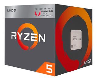 Micro Procesador Amd Ryzen 5 2400g 3.9ghz Am4 Rx Vega Mexx