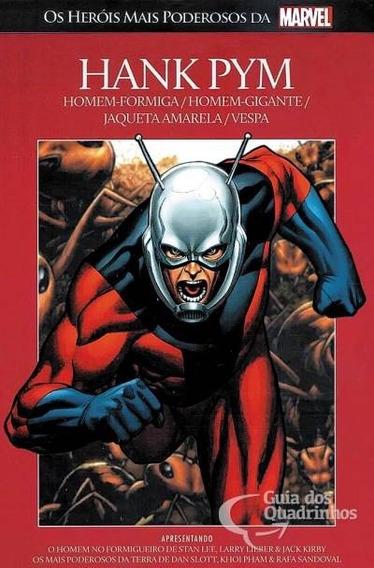 Salvat Heróis Mais Poderosos Da Marvel N° 45 - Hank Pym