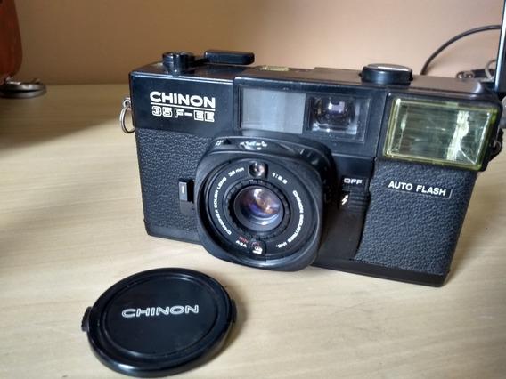 Maquina Fotografica Chinon 35f-ee, Bem Conservada N43