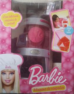 Juego De Barbie Nuevo Máquina De Granizados - Barbie Juguete