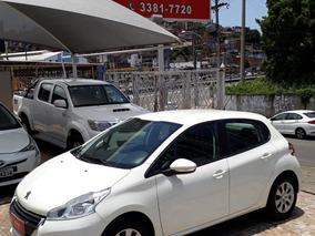 Peugeot 208 1.5 Active Flex 2015 Branco Unica Dona