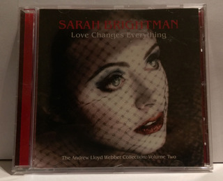 Lote 4 Albums Comedias Musicales Sarah Brightman Cds Import