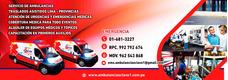 Ambulancias Clave 1 Peru Sac:su Vida Es Nuestra Razón De Ser