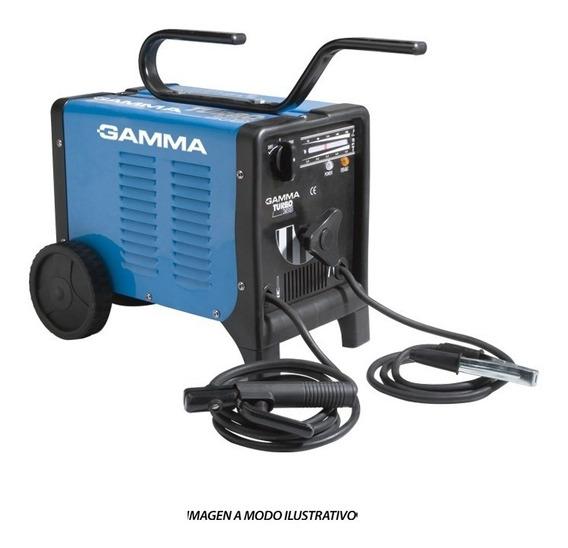 Soldadora Electrica Gamma Turbo 265 210a Mono-bifásica 3708g
