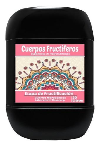Cuerpos Fructíferos-cultivos Hidropónicos Garrafa X 20 Litro