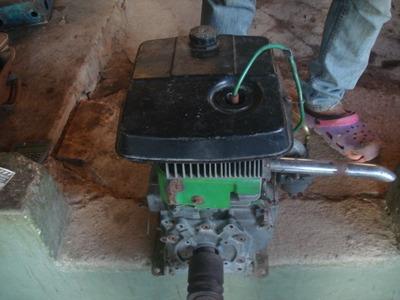 Motor A Gasolina Y Caracola De 2