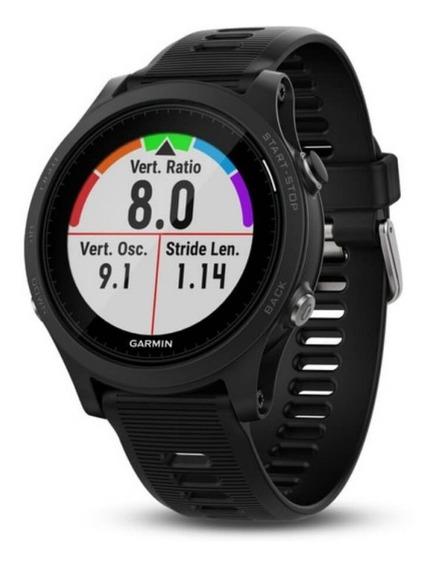 Relógio Esportivo Premium Garmin Forerunner 935 Preto Com