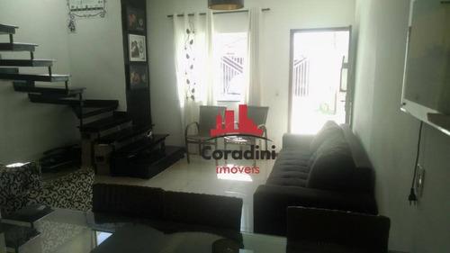 Imagem 1 de 18 de Casa Com 3 Dormitórios À Venda, 81 M² Por R$ 360.000 - Cidade Jardim Ii - Americana/sp - Ca1920