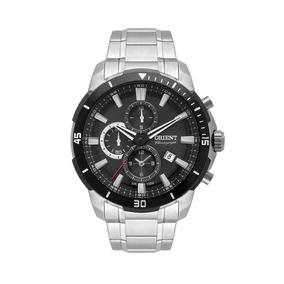 Relógio Orient Masculino Mbssc207 P1sx Cronógrafo Prateado