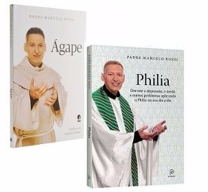 Kit Livros Padre Marcelo - Ágape + Philia