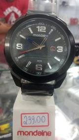 Relógio Mondaine Pulseira Couro Original Com Garantia E Nf
