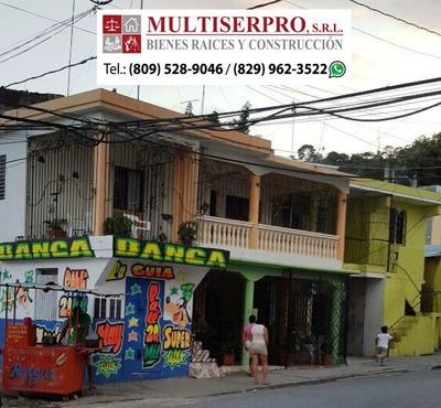 Se Vende Oport. 5 Casas Y 2 Locales Com. Pueblo Nuevo, S.c.