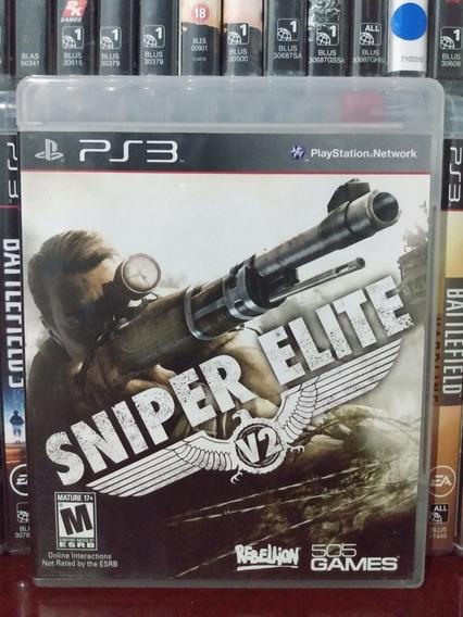 Sniper Elite V2 Original Ps3 | Parcelamento Sem Juros