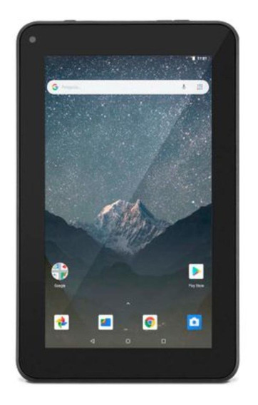 "Tablet Multilaser M7S Go NB31 7"" 16GB preto com memória RAM 1GB"