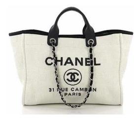 9938f98f83ca9a Bolsa Chanel Deauville - Bolsas en Mercado Libre México