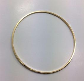 Pulseira, Bracelete Fio Quadrado Ouro 18k 60mm