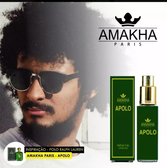 Perfume Apolo Amakra Paris 15ml-frete Grátis-