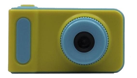 Camara Digital Infantil Incluye Memoria 4gb Celeste Mod.01