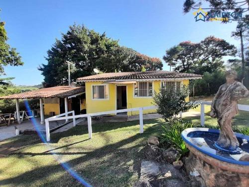 Chácara Com 1 Dormitório À Venda, 700 M² Por R$ 280.000,00 - Bosque Dos Eucalíptos - Atibaia/sp - Ch0087