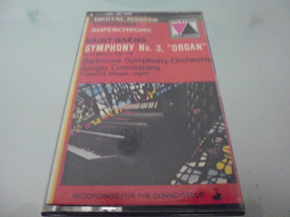 Cassette / Saint-saens Symphony No 3 Organ In C Minor Op 78