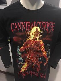 Cannibal Corpse Eaten Back To Life Long Sleeve T-shirt Merch