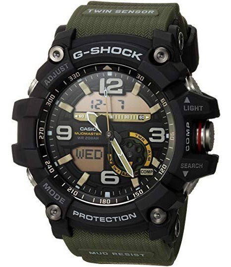 Reloj Casio Mudmaster Csgg 1000 1a3 G Shock Analogo Digital