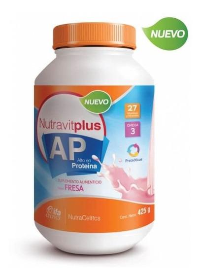 Nutravitplus Ap Fresa 425 Gr + Coaching Nutricional Gratis