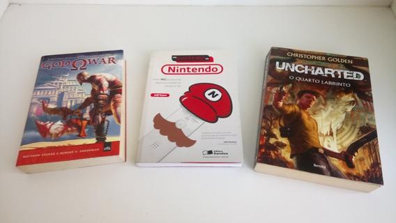 Lote De Livros Sobre Games