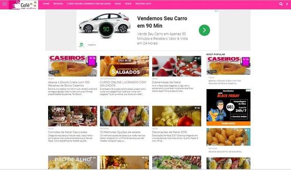 Vendo Site De Receitas + Adsense Mandar Aprovar + Página +