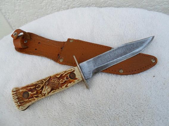 Cuchillo Solingen Decora Antiguo Excelente