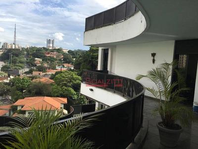 Sobrado À Venda Por R$ 4.500.000 - Pacaembu - São Paulo/sp - So0054