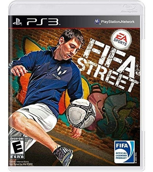 Game Play3 - Fifa Street - Semi-novo Jogo Ps3