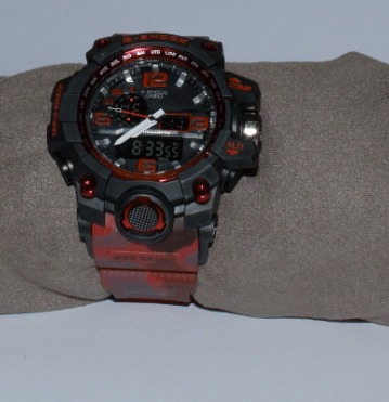 Relogio G-shock Mudmaster Black Tough Solar Triple Sensor