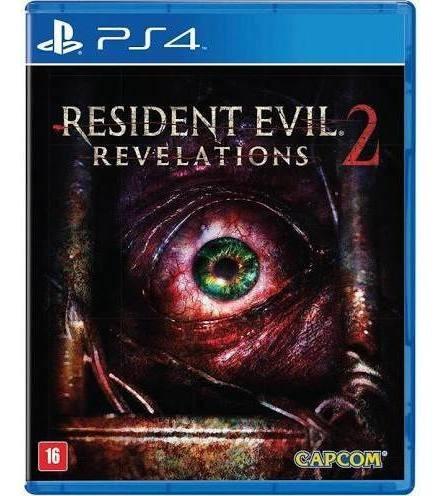Resident Evil Revelations 2 Ps4 Mídia Física Em Português