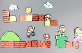 Imanes De Mario Bros Paq Con 29pzs