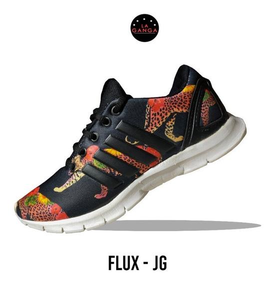 Zapatillas De Mujer Camufladas Flux New Style