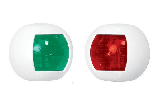 Luz De Navegação Bb E Be 112,5 Graus 12v Até 40 Pés Branca