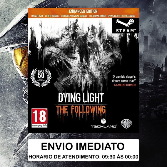 Dying Light The Following Enhanced Edition Steam Pc Cd Key