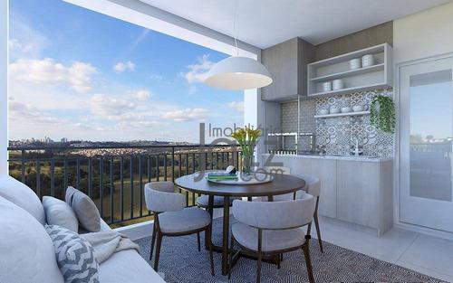 Apartamento Com 3 Dormitórios À Venda, 91 M² Por R$ 741.340,00 - Swiss Park - Campinas/sp - Ap5324