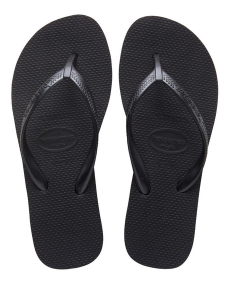 Ojotas Havaianas High Light Negra Mujer Originales Talles