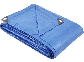 Lona De Polietileno Azul Vonder 7 M X 5 M