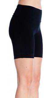 Calza Corta Ciclista Deportiva Mujer Supplex Power Fitness