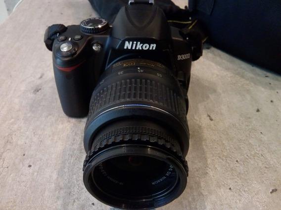 Câmera Nikon D3000 | Lentes 18~50mm + Lente 55~200mm