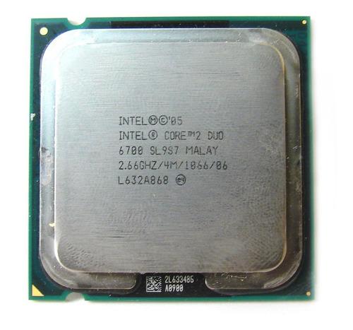 Procesador Intel Core 2 Duo E6700 2.66ghz 4mb Sl9s7 Lga 775