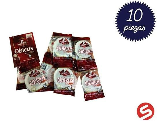 Obleas Coronado Tira 9grs 10pzs