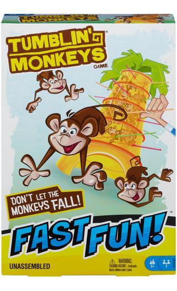 Mattel Games, Monos Locos, Juego De Mesa