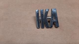 Emblema Insignia Ika De Baul Torino Metal Cromada