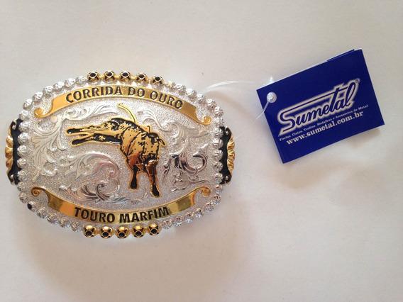Fivela Country Corrida Do Ouro -touro Marfim Sumetal